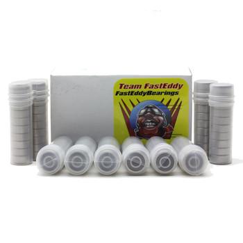 5x10x4 Ceramic Rubber Sealed Bearing MR105-2RSC (100 Units)