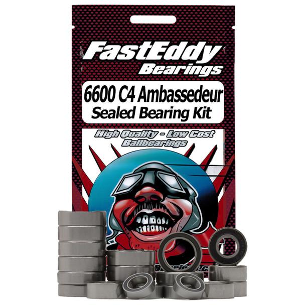Abu Garcia 6600 C4 Ambassedeur-Custom Fishing Reel Rubber Sealed Bearing Kit