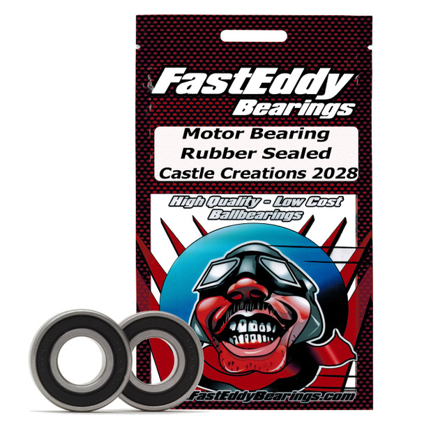 Castle Creations 2028 Rubber Sealed Bearing Kit