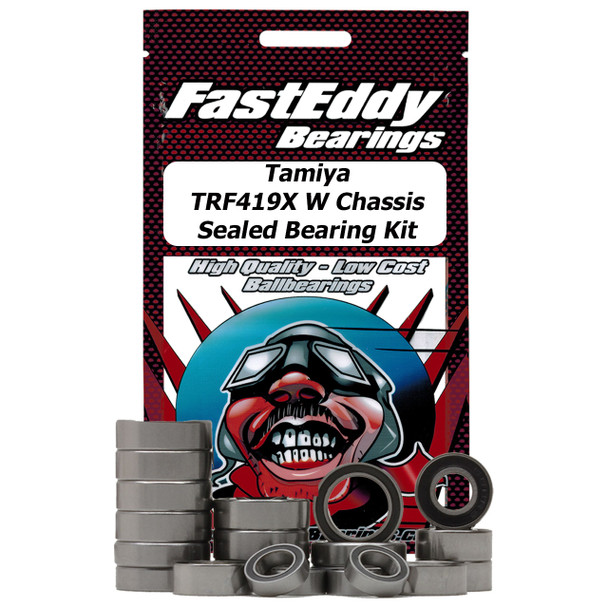Tamiya TRF419X W Chassis Rubber Sealed Bearing Kit