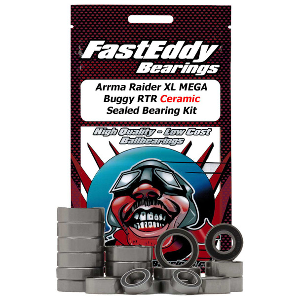 Arrma Raider XL MEGA Buggy RTR Ceramic Sealed Bearing Kit