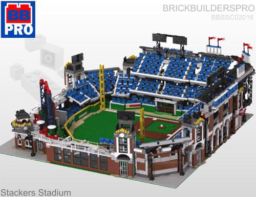 Stackers Stadium Pro Baseball Park Pdf Lego Instructions
