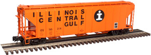 Atlas O 3001361-04 Illinois Central Gulf #745352 PS 4427 Low Side Hopper 3-rail