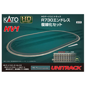 Kato 3-111 HV1 Unitrack Outer Oval Set HO