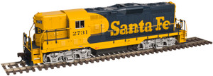 Atlas 10002009 Santa Fe GP-7 #2761 Silver DC HO