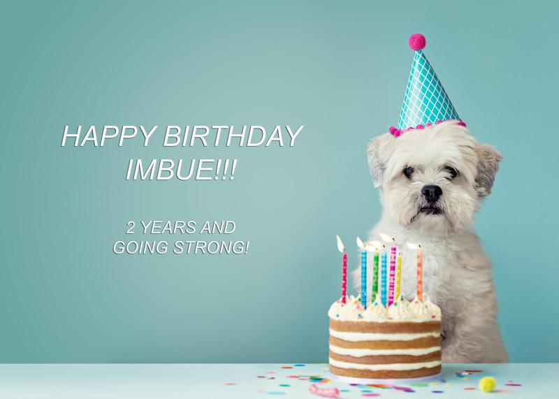 Happy Birthday Imbue!