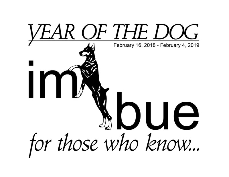 It's The Year of the Dog!