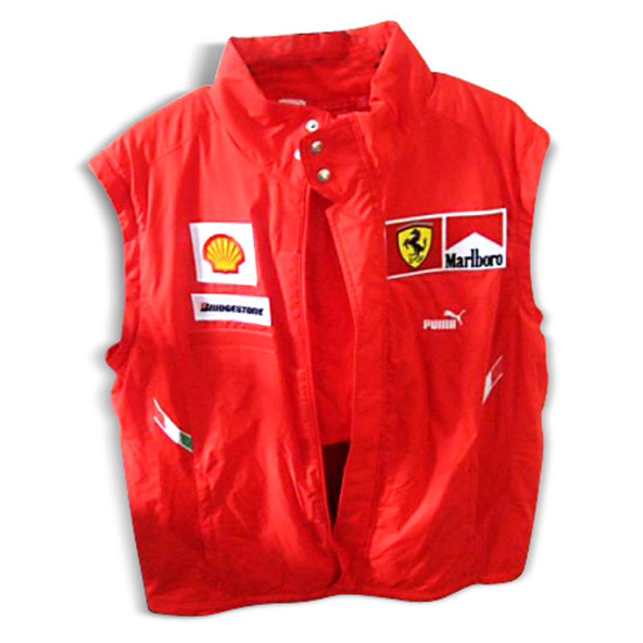 2008 Ferrari PUMA Malboro Vest (with zipper arms)