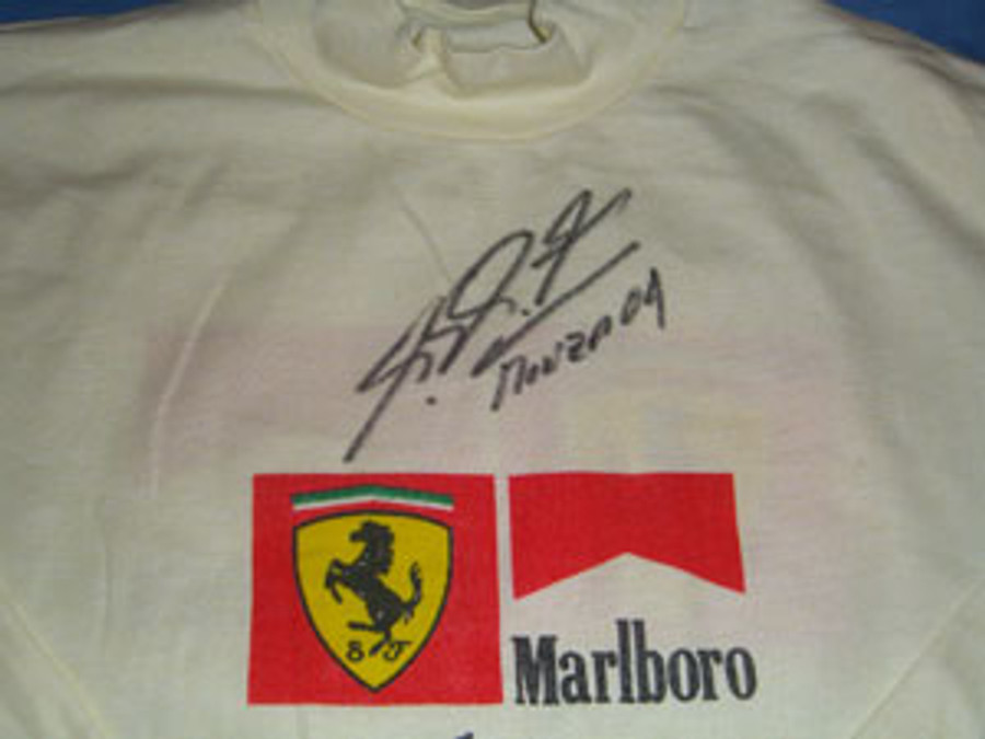 Michael Schumacher Used / Signed Nomex Tops