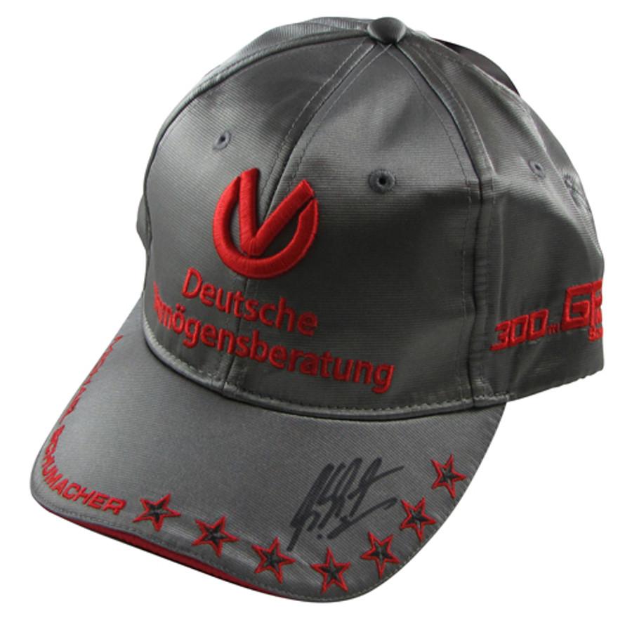 Michael Schumacher Signed '300 Races' PLATINUM Limited Edition Cap