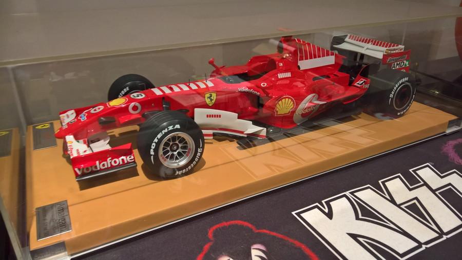 Michael Schumacher Amalgam 1:8 F248 2006 Brazilian Grand Prix Model Car