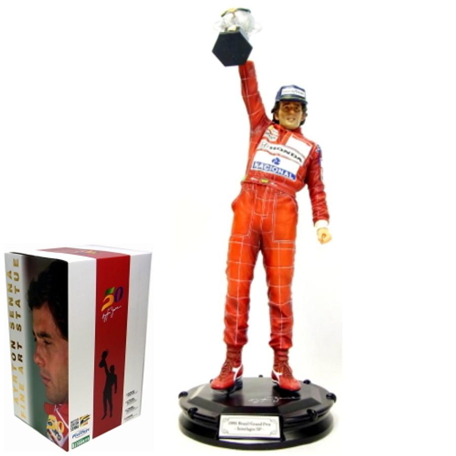 Ayrton Senna 1991 Brazilian Grand Prix Celebration Statue 1:6 Scale