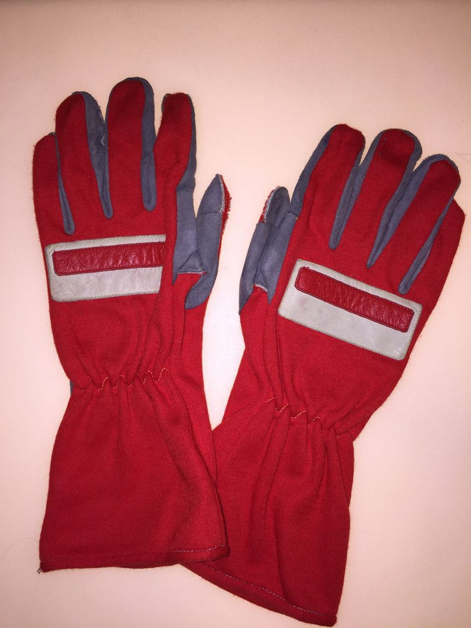 Michael Schumacher Race Used Gloves - 4