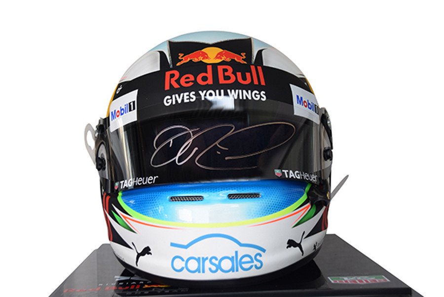 Daniel Ricciardo Signed Full Size Replica Helmet