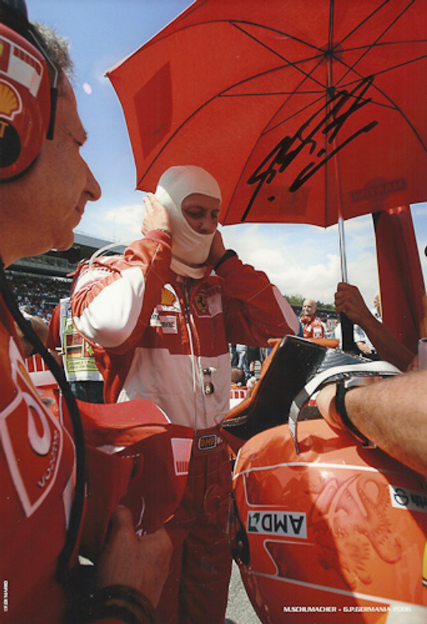 Michael Schumacher Signed Photograph Germany 2006