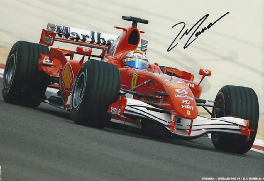 Felipe Massa Signed Photograph 2006