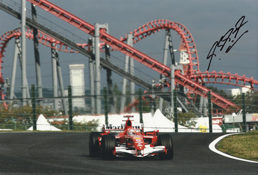 Michael Schumacher Signed Photograph Japan 2006