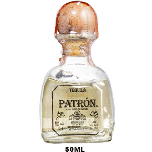 50ml Mini Patron Reposado Tequila