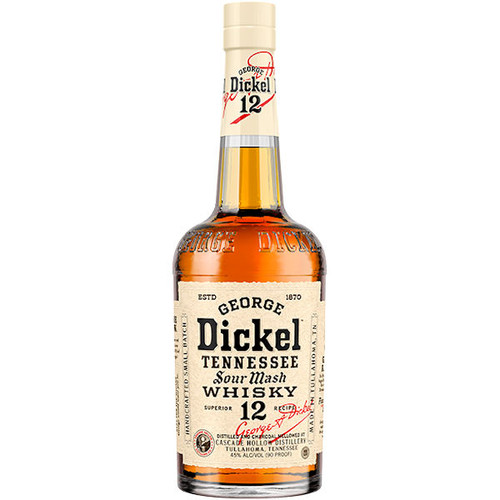 George Dickel No.12 Tennessee Sour Mash Whisky 750ml