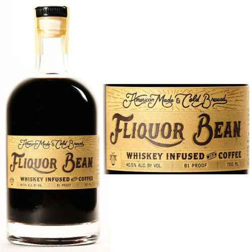 Fliquor Bean Whiskey Infused with Coffee 750ml