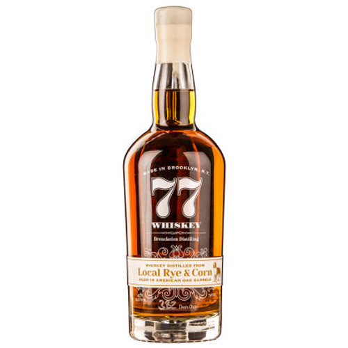 Breuckelen Distilling 77 Whiskey - Distilled from Local Rye and Corn 750ml