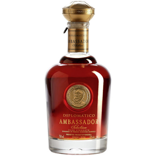 Diplomatico Ambassador Selection Cask Strength Venezuelan Rum 750ml