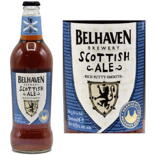 Belhaven Scottish Ale (Scotland) 16.9oz