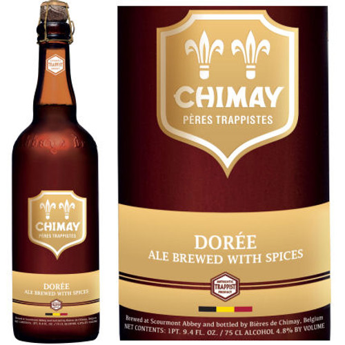 Chimay Doree Ale (Belgium) 750ml