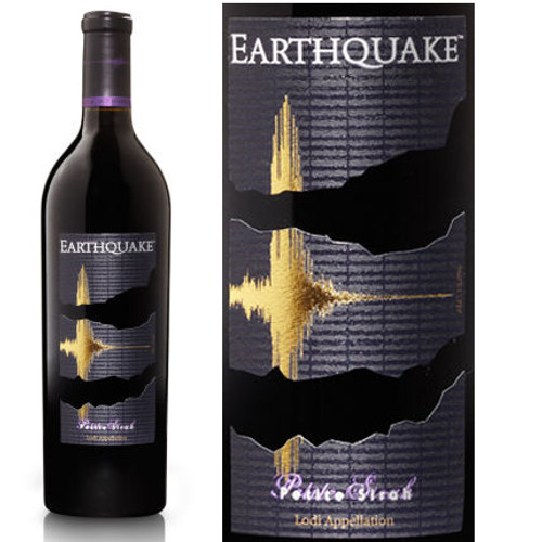 Earthquake by Michael David Winery Lodi Petite Sirah