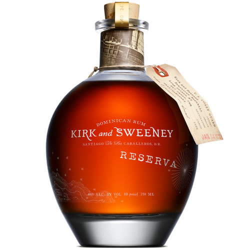 Kirk and Sweeney 12 Year Old Dominican Rum 750ml