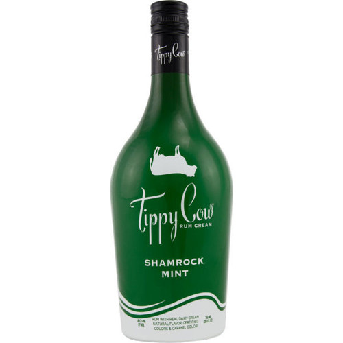 Tippy Cow Shamrock Mint Rum Cream 750ml