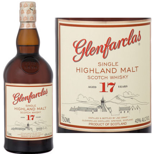 Glenfarclas 17 Year Old Highland 750ml