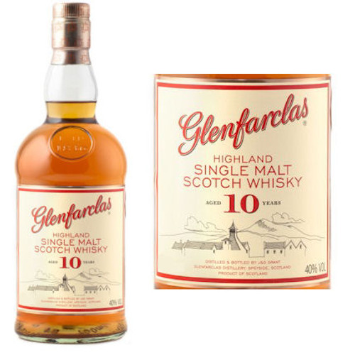 Glenfarclas 10 Year Old Highland Single Malt Scotch 750ml