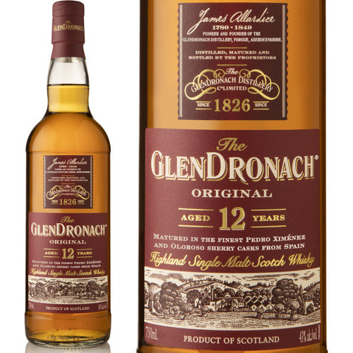 Glendronach 12 Year Old Highland 750ml