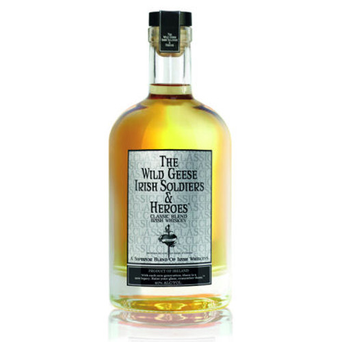 The Wild Geese Classic Blend Irish Whiskey 750ml