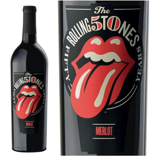 Wines That Rock Rolling Stones Forty Licks Merlot