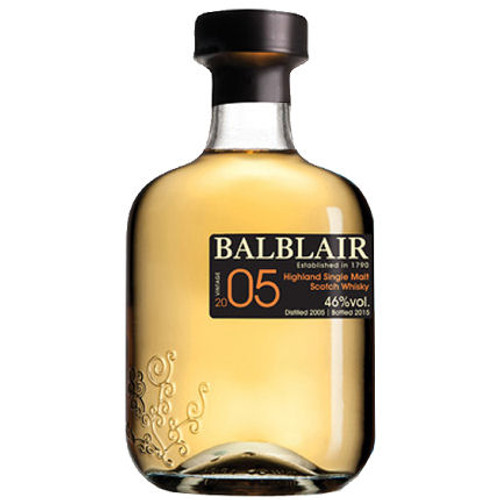 Balblair 2005 Highland Single Malt Scotch 750ml
