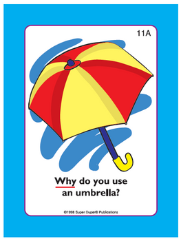 """Ask & Answer """"WH"""" Question Cards - Why?"""