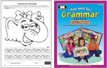Say & Do Grammar Fun Sheets