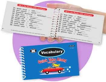 Vocabulary Quick Take Along