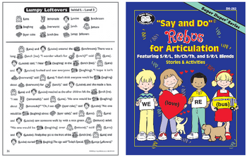 Say & Do Rebus For Articulation