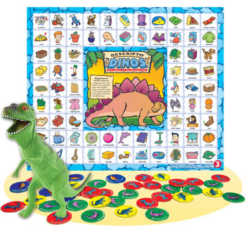 Descripto Dino Game Board