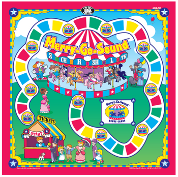 Merry-Go-Sound Board Game