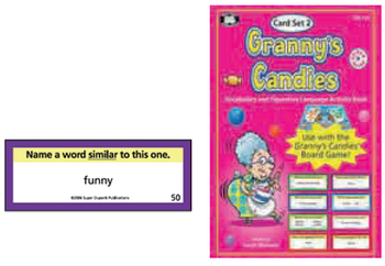 Granny's Candies Vocabulary And Figurative Language Add-On