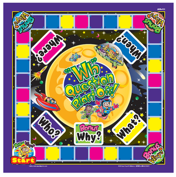 """WH"" Question Blast Off Game"