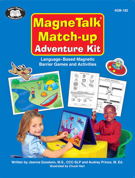 Magnetalk Match Up Adventures Kit with Barrier