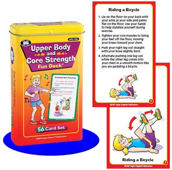Upper Body and Core Strength Fun Deck