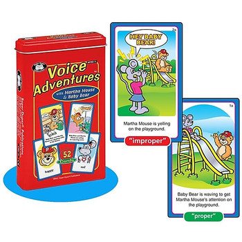Voice Adventures Card Deck