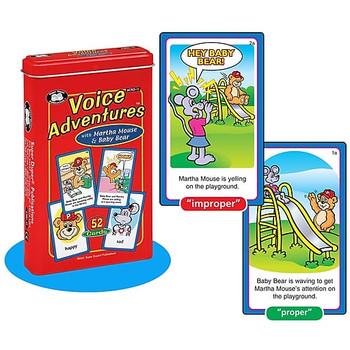 Voice Adventures Card Deck