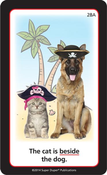Pirates & Pals Preposition Fun!
